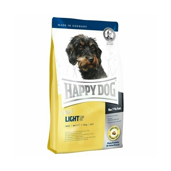 Happy Dog Mini Light Low Fat, 4kg