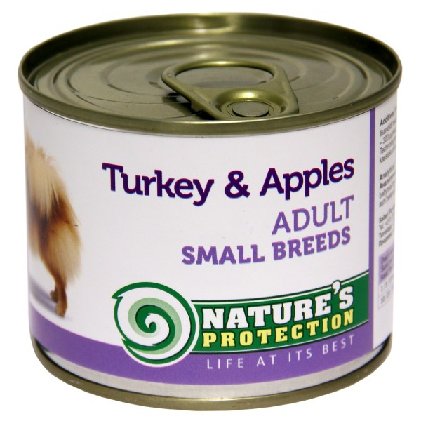 Nature's Protection Adult Small Breeds Turkey Apples 200 g