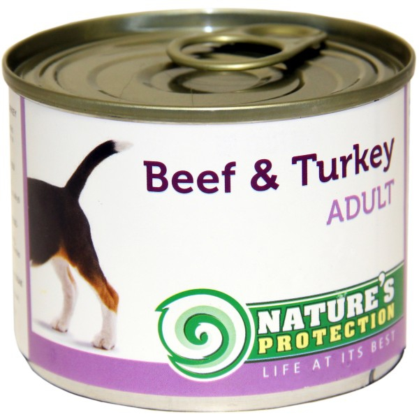 Nature's Protection Dog Adult Beef Turkey 200g