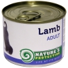Natures Protection Can Dog Adult Lamb 800 g