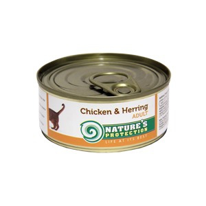 Natures Protection Can Cat Chicken&Herring 100 g