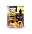 Farm Fresh Kuře a losos s bramborami 400g