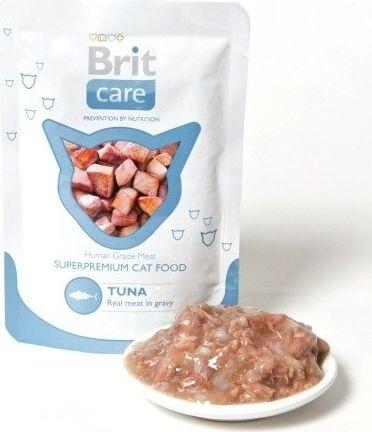 Brit Care Cat kapsa Tuna Pouch 80g