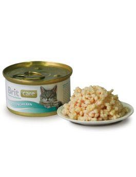 Brit Care Cat Kitten konzerva kuřecí prsa 80g