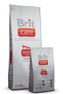 Brit Care Dog Activity All Breed 3kg
