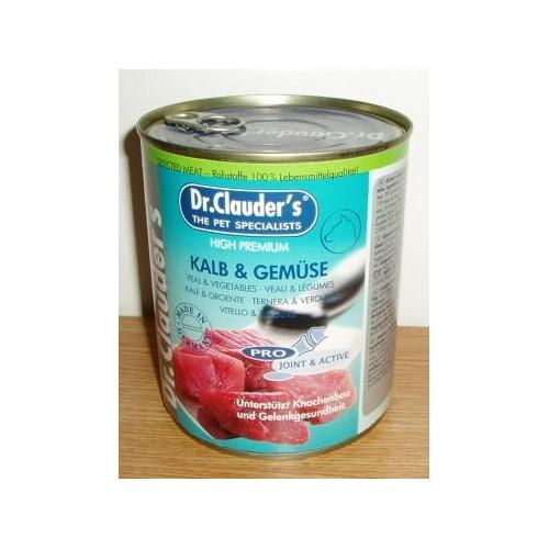 Dr.Clauder´s 800g Kalb+Gemüse 1ks