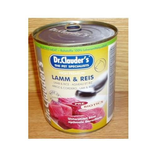 Dr.Clauder´s 800g Lamm+Reis