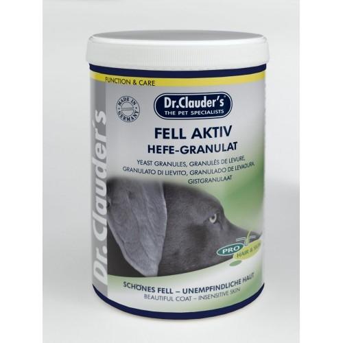 Dr.Clauder´s 600g Hefe Granulat Fell Aktiv Dog