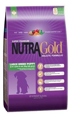 Nutra Gold Large Breed Puppy 2 x 15 kg