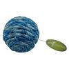 Míček modro-stříbrný pro kočky 4cm