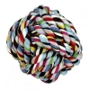 Míč bavlna 8,5cm aport barevný
