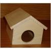 Domek myš stodola dřevěný, přírodní