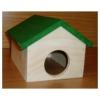 Domek křeček stodola dřevěný, zelený