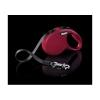 Flexi New Classic S 5m do 15kg červená/pásek