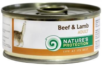 Natures Protection Can Cat Beef&Lamb 100 g