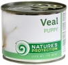 Natures Protection Can Dog Puppy Veal 200 g