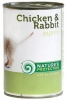 Natures Protection Puppy Chicken Rabbit 400g konzerva