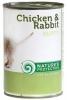 Natures Protection Puppy Chicken Rabbit 400g konzerva