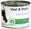 Natures Protection Can Dog Adult Small Breeds Veal&Duck 400 g