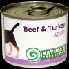 Natures Protection Can Dog Adult Beef&Turkey 400 g