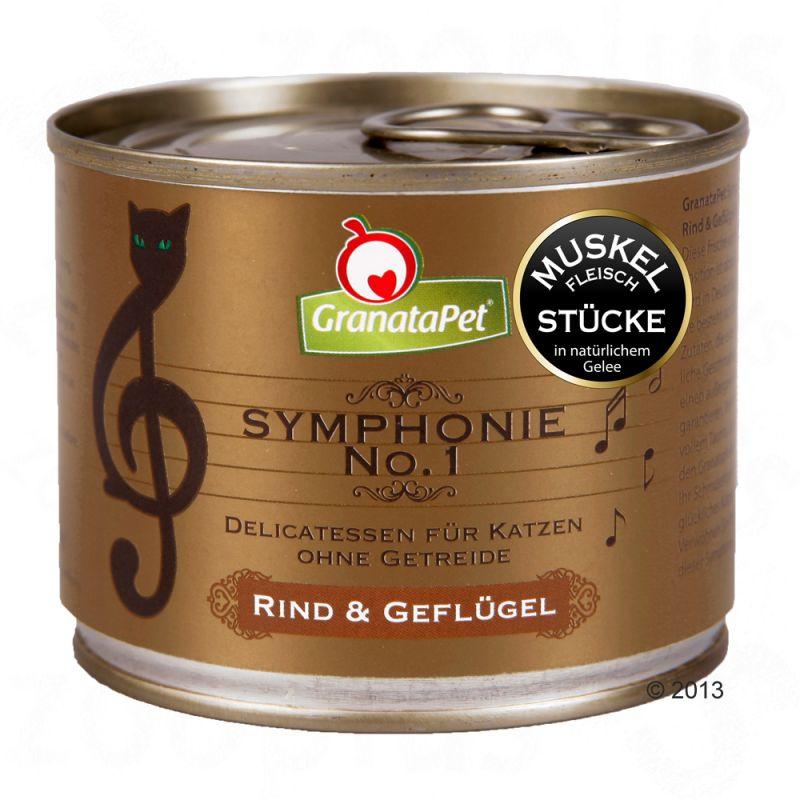 GranataPet Symphonie no.1 Hovězí a drůbež, 200g