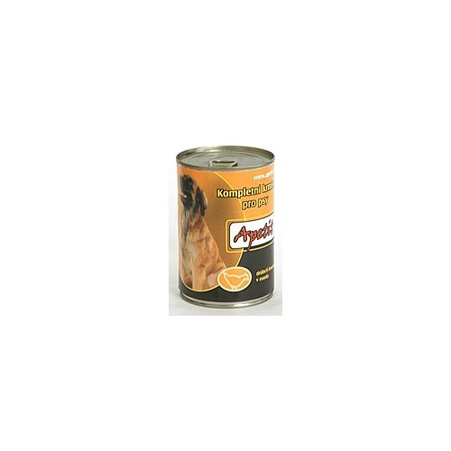 Apetit 410g drůbež dog 1ks