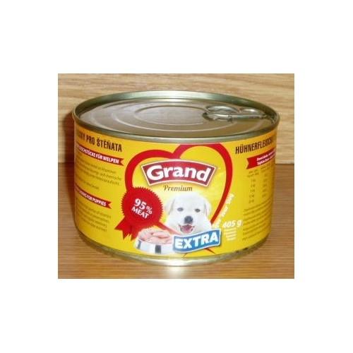 Grand 405g extra štěně kuřecí kousky 1ks