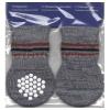 Ponožky protiskluzové šedé S-M