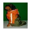 Pláštěnka 29cm zelenooranžová