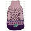Rolák 20cm Aztek fialovo/růžový se vzorem