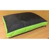 Matrace se zip.Basic Duo 65cm černá+hrášková zelená-94