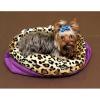 Spací pytel XL-fialová /leopard