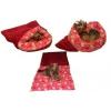 Spací pytel XL-fuchsiová/růžové kočičky