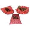 Spací pytel XL-světle růžová/růžové kočičky