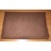 Podložka Comfort 100x70cm velur hnědá+bílá-94