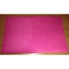 Podložka Comfort 100x70cm velur růžový+bílý-94