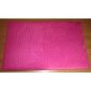Podložka Comfort 135x90cm velur růžový+bílý-96