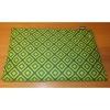 Podložka Trendy 135x90cm zelená mozaika+šedá-94