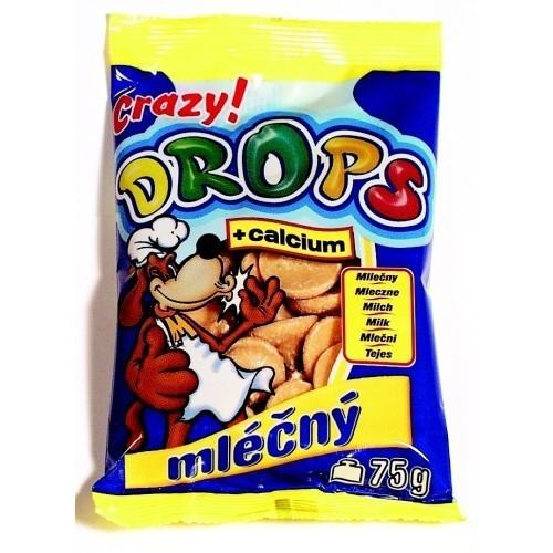 Drops 75g mléčný dog