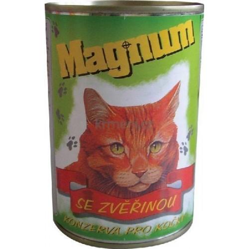 Magnum 855g zvěřina cat