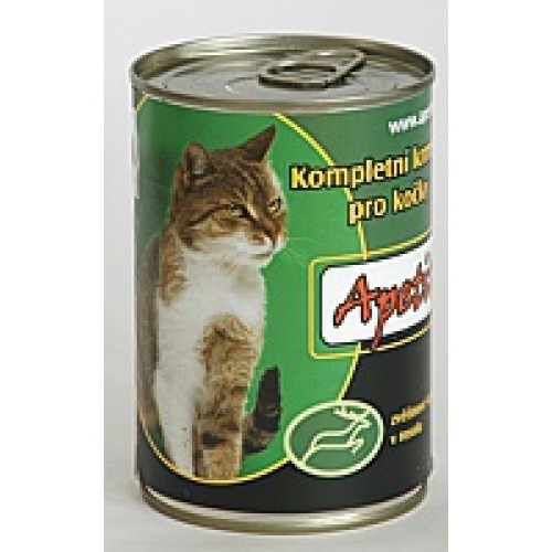 Apetit 410g zvěřina cat