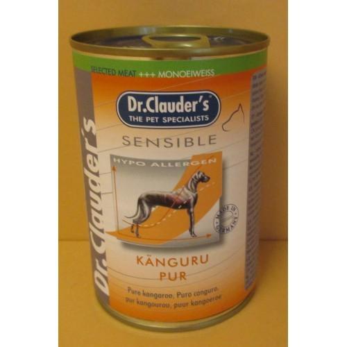 Dr.Clauder 400g Sensible s klokaním masem(Känguru pur)-94