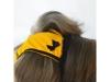 Hárací kalhotky, no. 5, žluté s černou mašlí, vel. 1