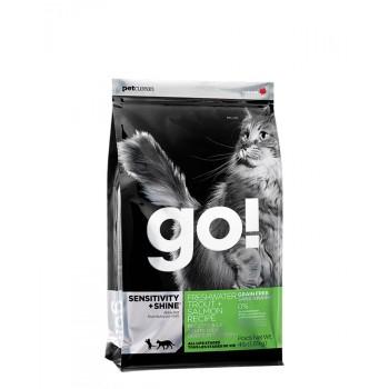 GO Sensitive Shine Grain Free CAT Trout and Salmon 3,62kg