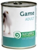 Natures Protection Can Dog Adult Game (Wild) 800 g
