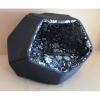 Domek s pol.Cubby Modern 60x60x44cm černý+květy