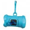 Plast.zásobník na sáčky na trus, tvar KOST,vč.1 role