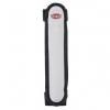 Bezpečnostní blikací návlek na obojek či vodítko 16cm - šedo/černá