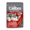 Calibra cat 100g kapsa kuřecí a hovězí kousky v omáčce