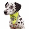 Reflexní šátek pro psa S-M 29-42 cm